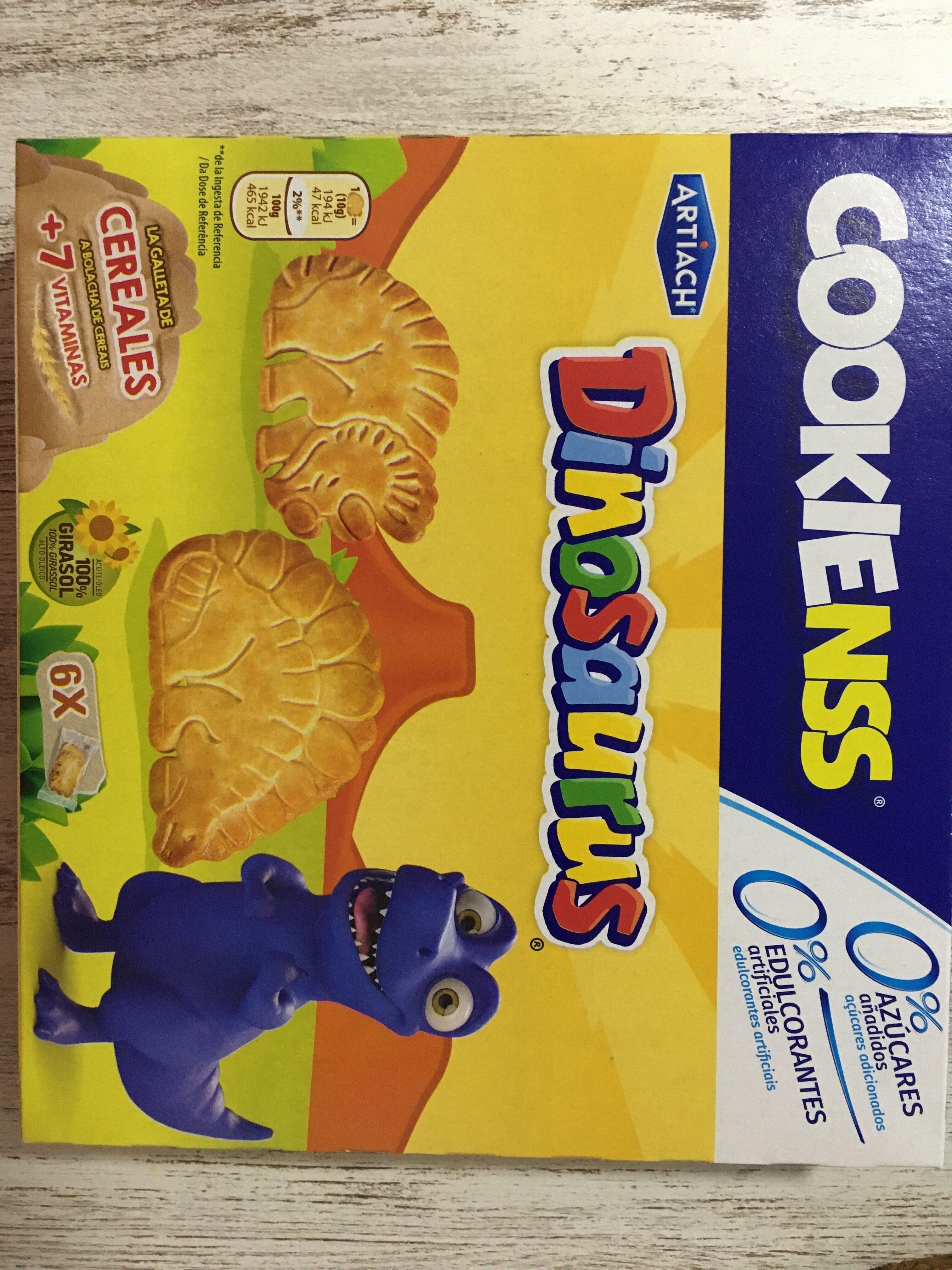 Cookienss galletas de cereales con vitaminas - Produit