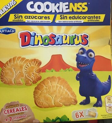 Cookienss Dinosaurus galletas de cereales con vitaminas - Product