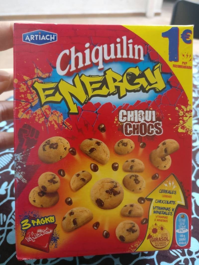 Chiquilín Energy - Producto - es