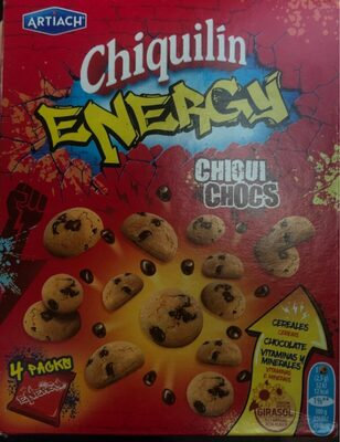 Chiquichocs mini galletas con pepitas de chocolate - Producte - es