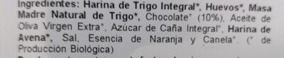 Bollo brioche con chocolate - Ingredients - es