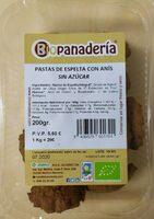 Pastas de Espelta con Anís (sin azúcar) - Product - es