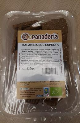 Saladinas de Espelta - Ingrédients