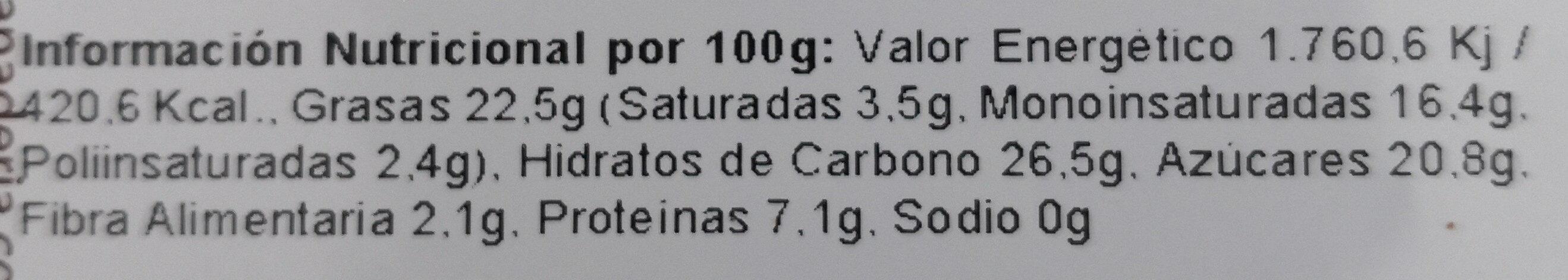Romanicas de Espelta Integral - Nutrition facts - es