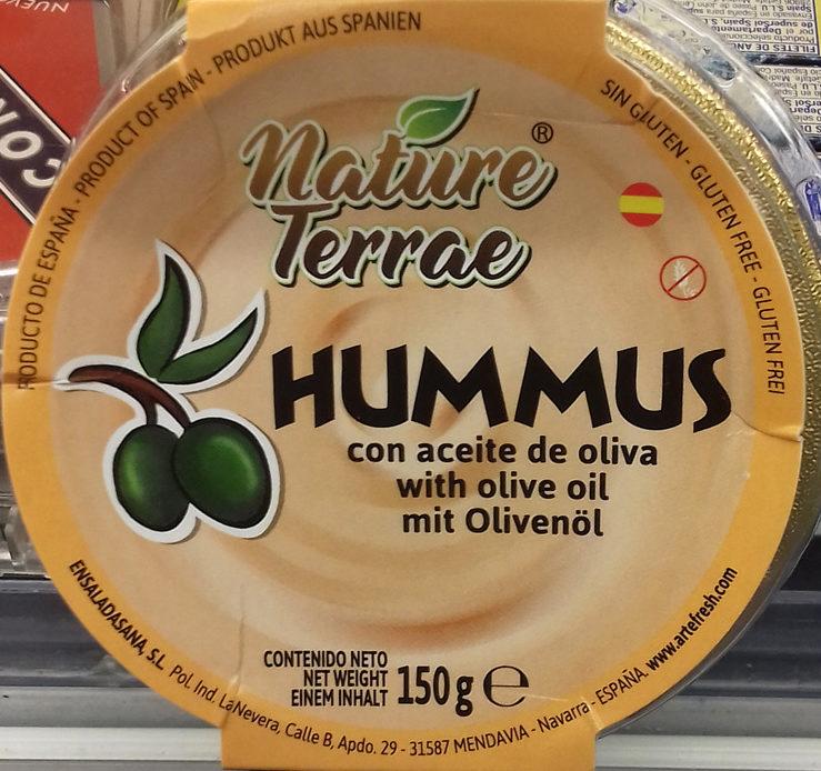 Hummus con aceite de oliva - Producto