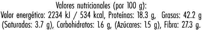 Linaza dorada - Nutrition facts - es