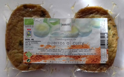 Hamburguesas de puerros al curry - Produit - es