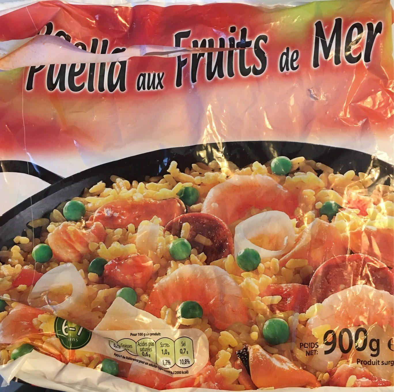 Paëlla aux Fruits de Mer - Produit