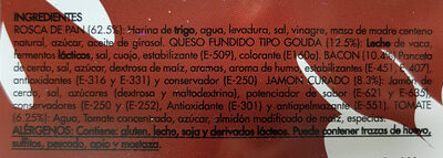 La Rosca Rústica Serrana - Ingredientes - es