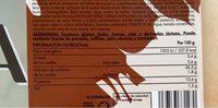 La rosca rústica - Informació nutricional - es
