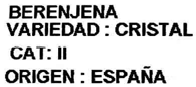 "Berenjenas ""Vicasol"" - Ingredients"