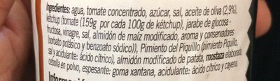 Salsa brava - Ingredientes - es
