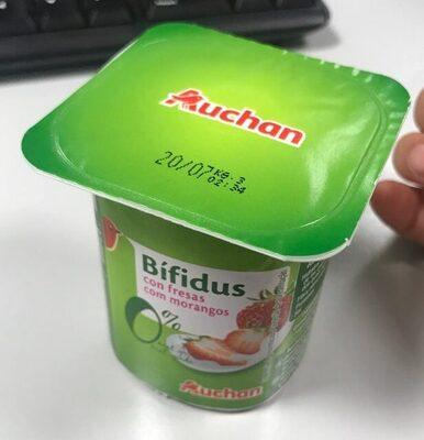 Bífidus con fresas - Product