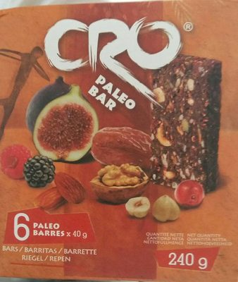 CRO paléontologie bar - Product