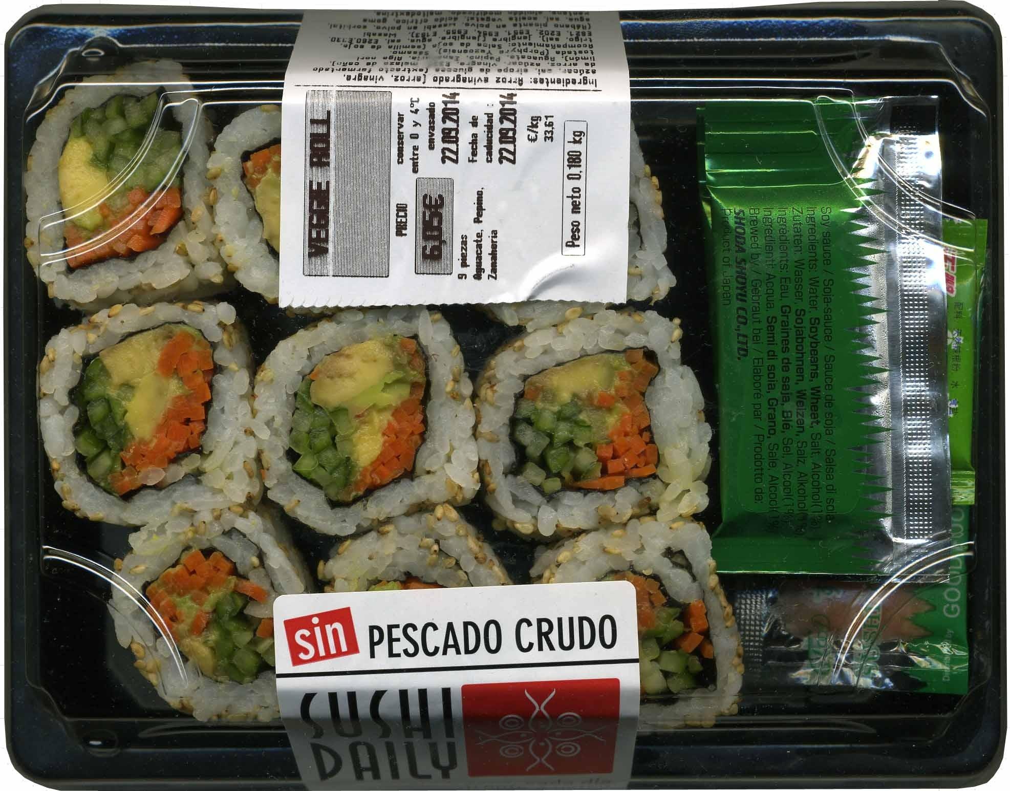 Maki sushi vegetal - Produit
