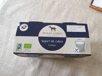 Iogurt de cabra - Producto