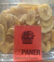 Dehydrated banana - Product - es