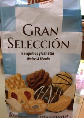 Gran selección de barquillos y galletas - Product