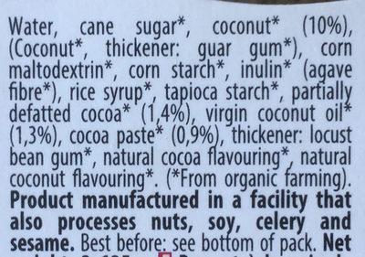 Coco Cacao - Ingredients - en