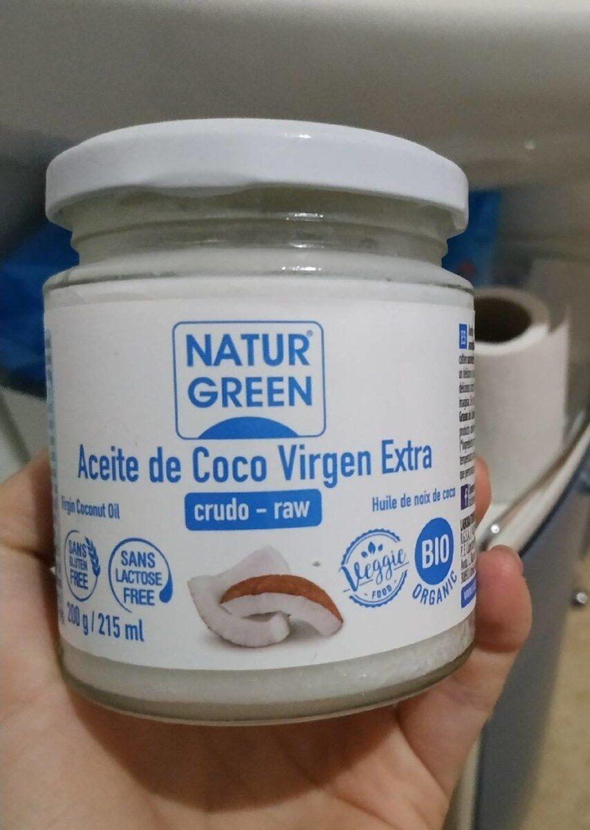 Aceite de coco virgen extra - Product