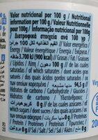Aceite de coco virgen extra - Voedigswaarden