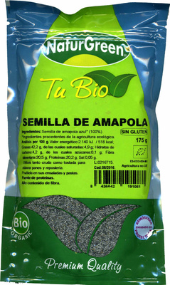 Semilla de Amapola - Producte