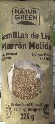 Semillas de lino marrón molido - Producto - es