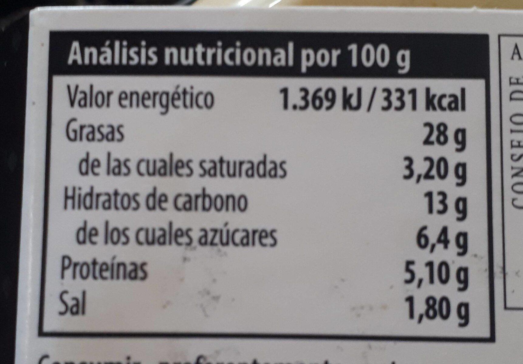 CREMA CALABACIN CON CURRY - Informació nutricional - es