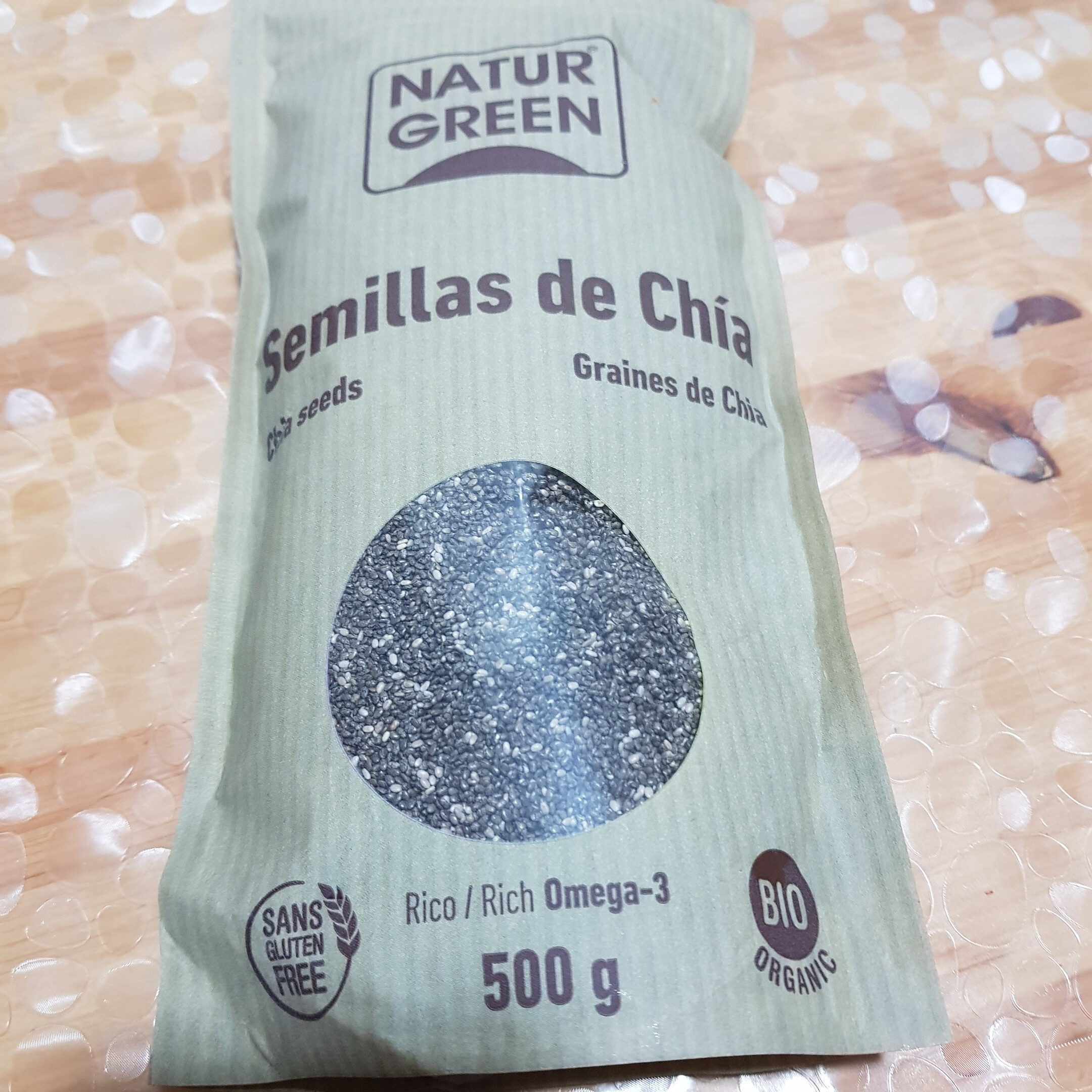 Semillas de chía - Produit