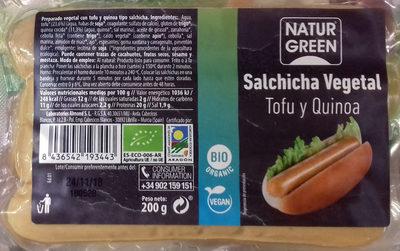 Salchicha Vegetal Tofu y Quinoa - Producto