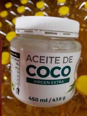 Aceite de coco virgen extra - Producto - es
