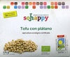 """Tofu ecológico """"Sojhappy"""" Con plátano - Producto"""