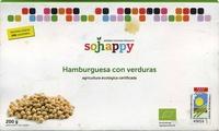 Hamburguesas vegetales con verduras - Produit - es