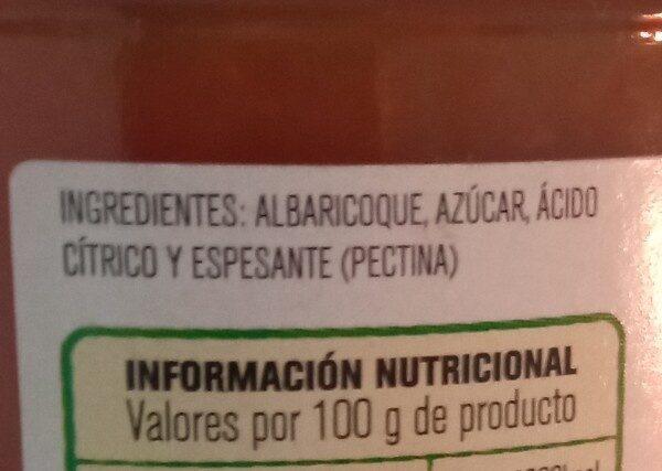 Mermelada extra de albaricoque - Ingrédients - fr