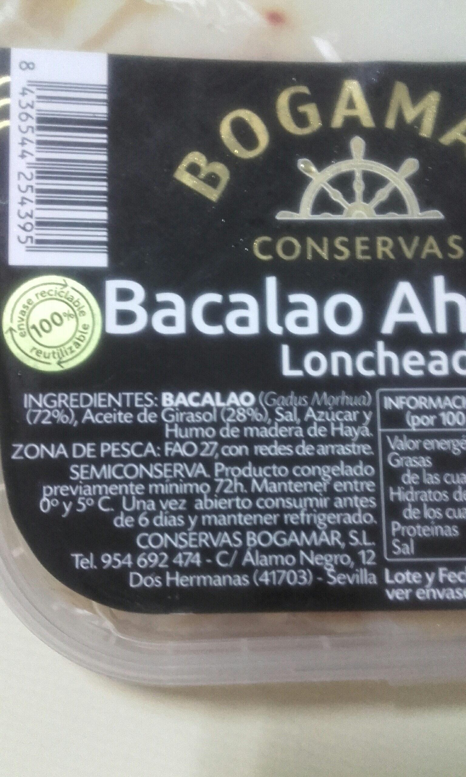 bacalao ahumado - Ingrédients
