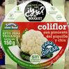 Coliflor con pimiento del piquillo y chía - Producto
