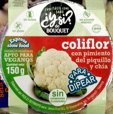 Coliflor con pimiento del piquillo y chía - Producte