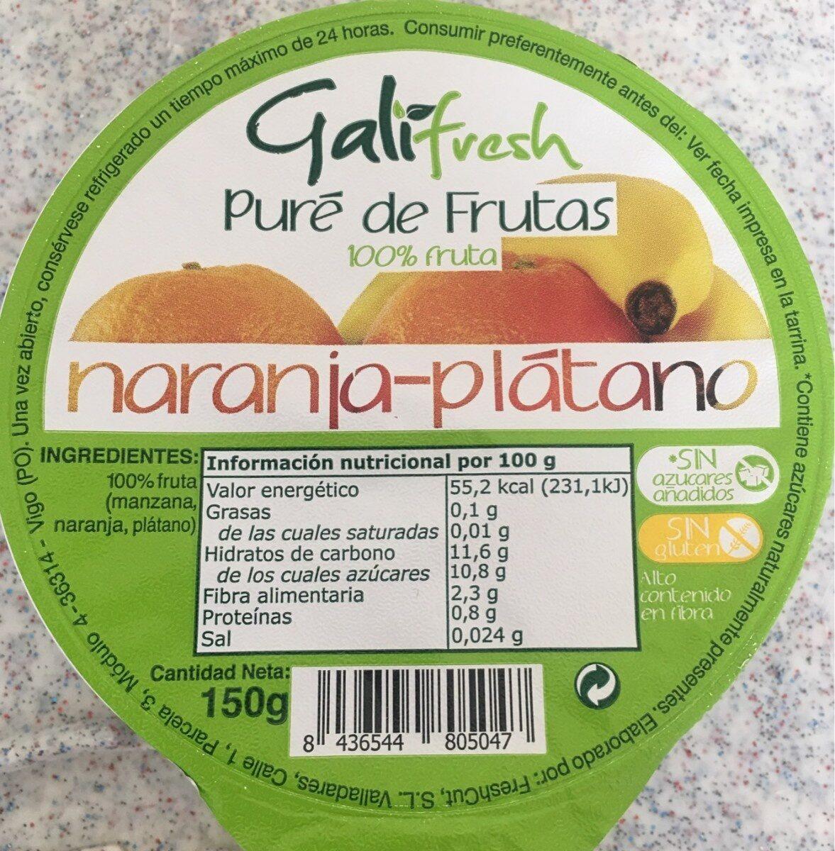 Puré de frutas 100% fruta - Producte