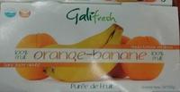 100% fruit Orange-Banane - Produit - fr