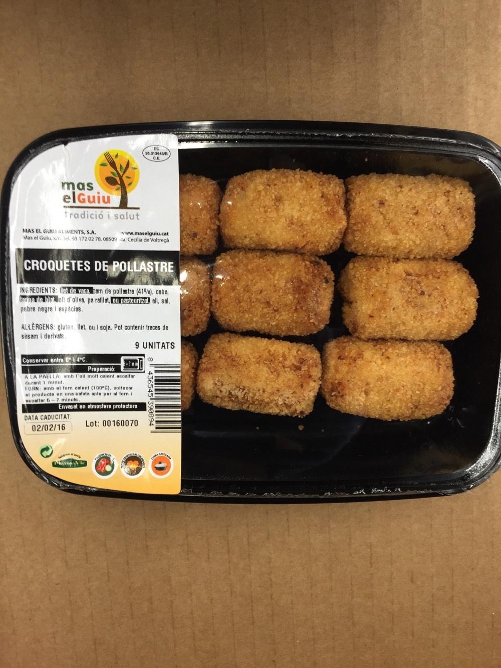 Croquetes de pollastre - Product - fr