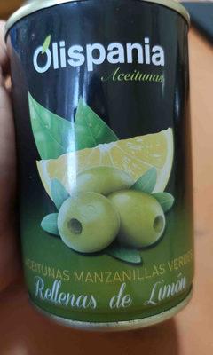 Aceitunas rellenas de limon - Producto
