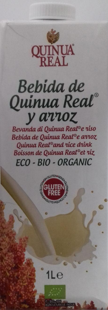 Bebida de Quinua Real y arroz - Product - es