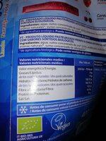 Bio ice - Información nutricional