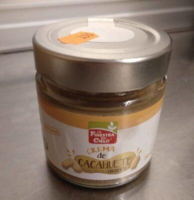 Crema de cacahuete crujiente - Product