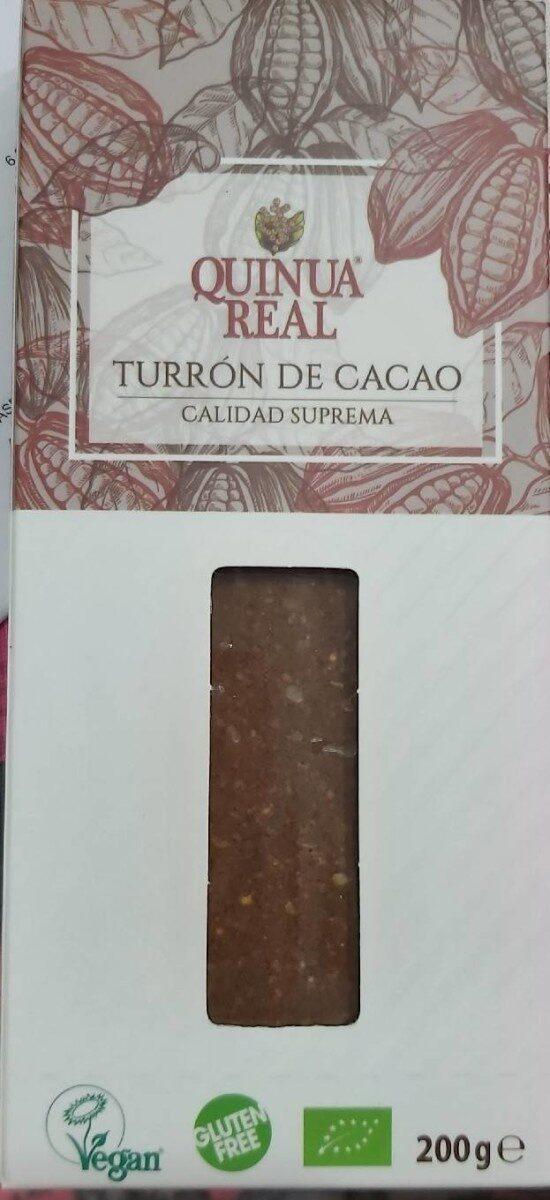 Turrón de cacao - Produkt - es
