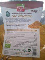 Minicrackers de espelta con cúrcuma - Producto - es