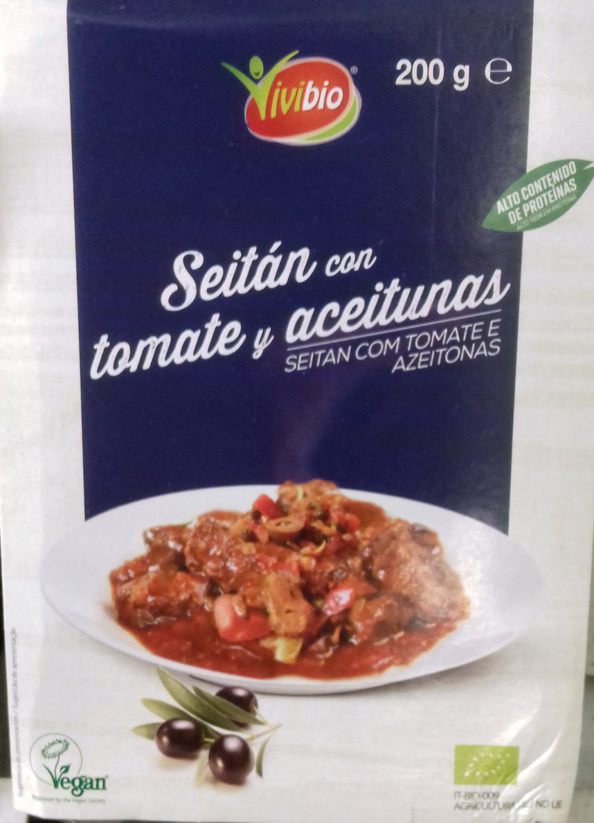 Seitán con tomate y aceitunas - Produit - es