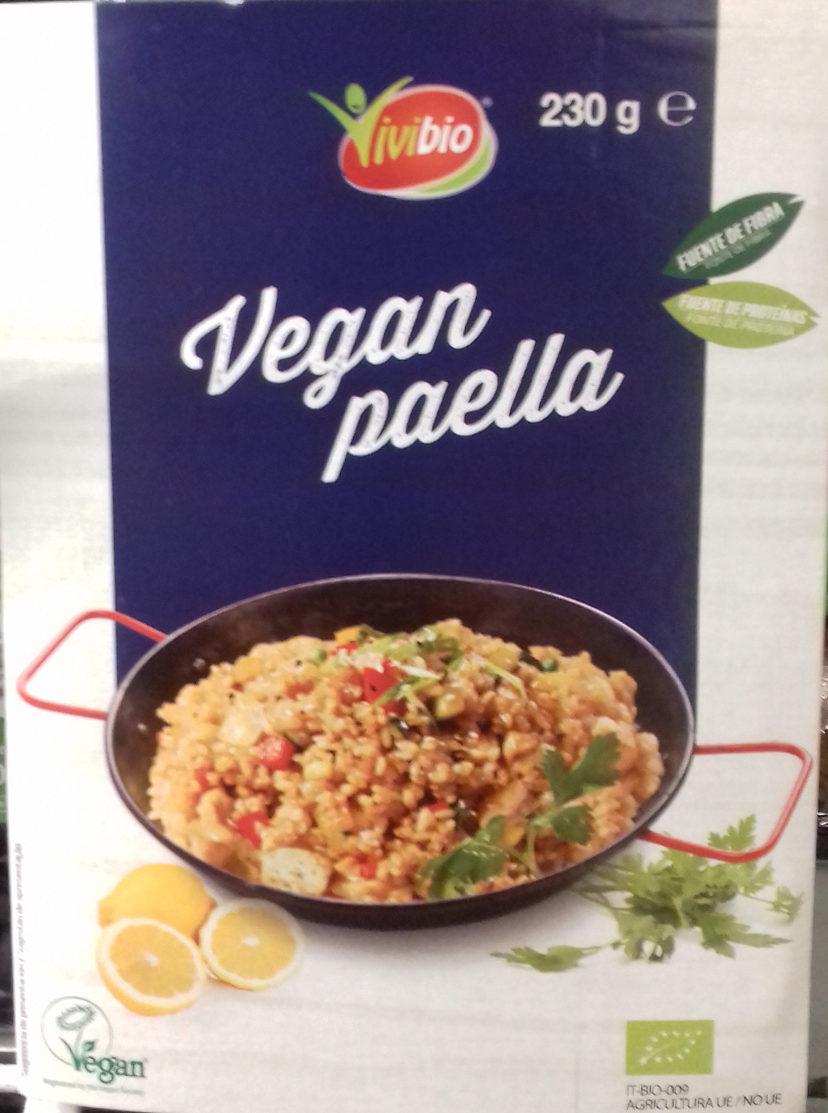 Vegan paella - Producte