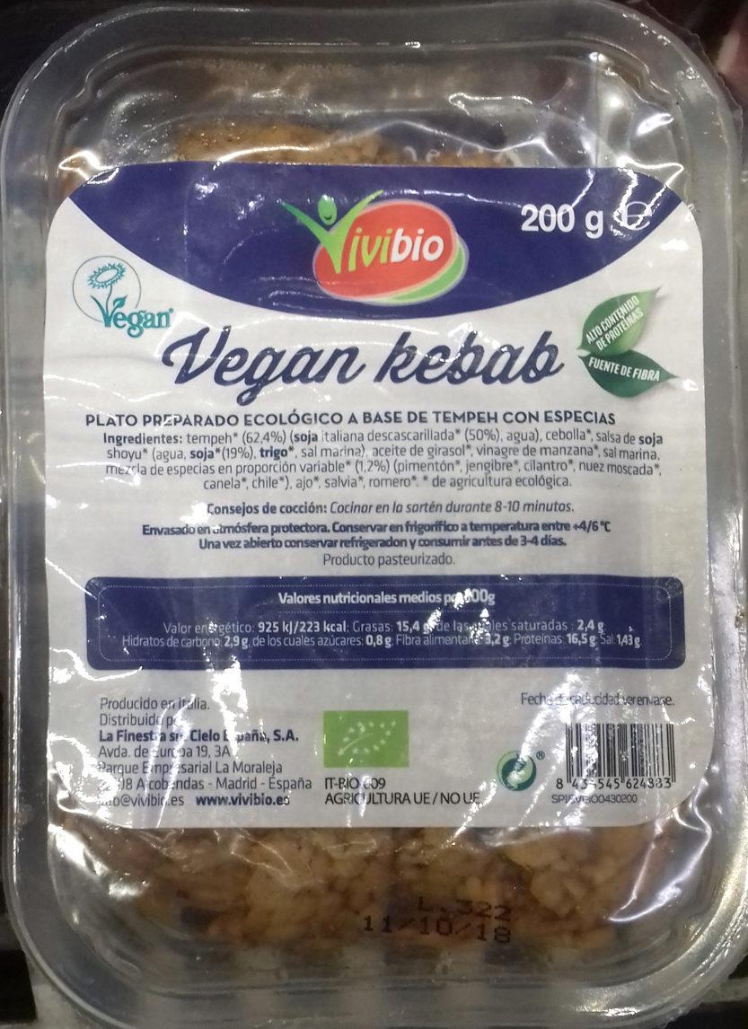 Vegan kebab - Producte - es
