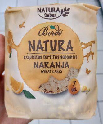 Tortitas saciantes naranja - Producto - es